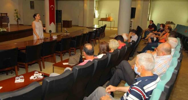 Başkan Sengel, ecrimisil sorunu çözümü için esnaflarla buluştu