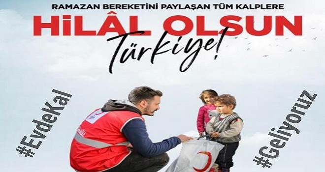 Türk Kızılay evinize geliyor...