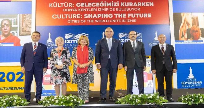 Soyer: İzmir'den tüm dünyaya kültür tohumları serpeceğiz