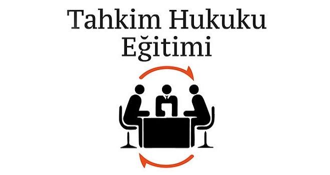 İzmir Tahkim Derneği İzmir'de ilk eğitimini veriyor