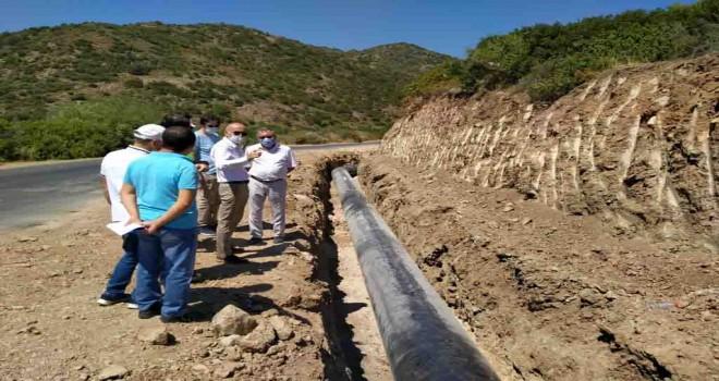 Çeşme'nin içme suyu problemi tarih oluyor