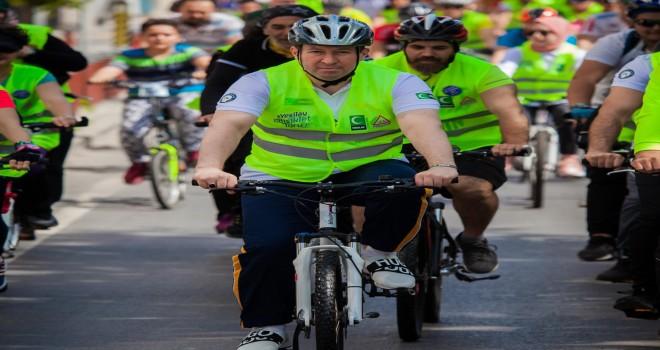 Yeşilay İzmir'den, sağlık için bisiklet turu