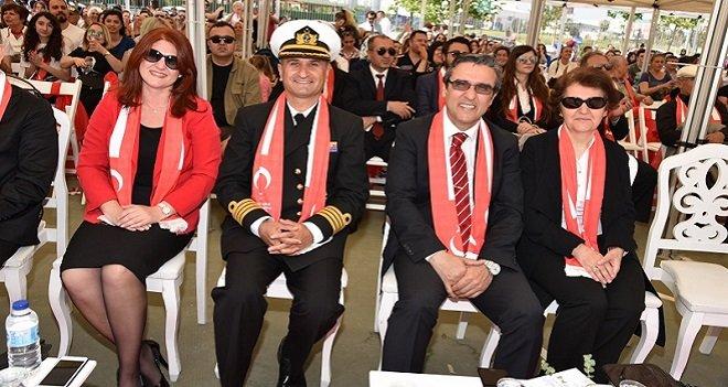 Ege Deniz Bölge Komutanı Deniz Albay Hasan Çankaya Tuğamiralliğe terfi etti