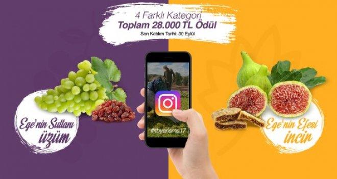 Ege'nin üzüm ve inciri Instagram'da görücüye çıkacak