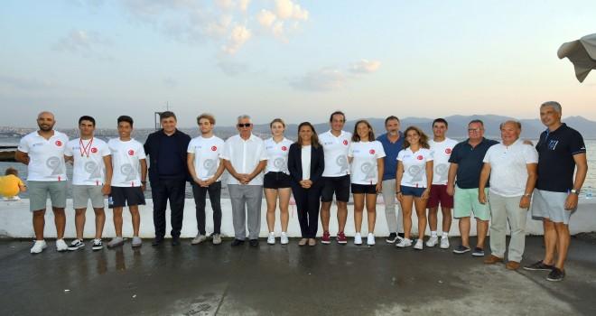 KSK Yelken Şubesi'nden Milli sporcularına kutlama