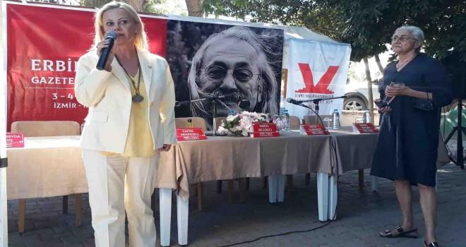 Usta gazeteci Erbil Tuşalp anıldı