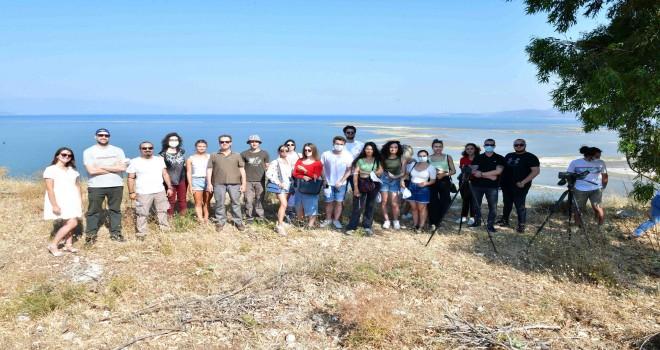 Çiğli Belediyesi yabancı misafirlerine veda etti