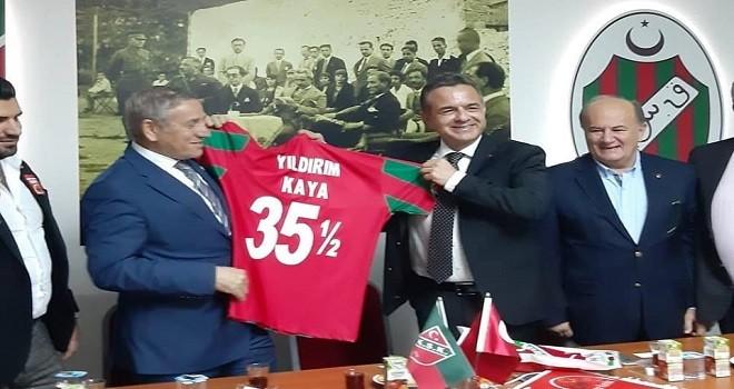 CHP Genel Başkan Yardımcısı KSK'yi ziyaret etti
