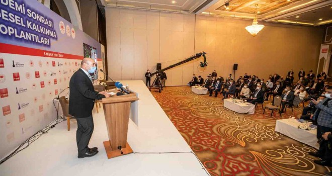 Pandemi Sonrası Bölgesel Kalkınma Toplantıları'nın beşincisi İzmir'de yapıldı