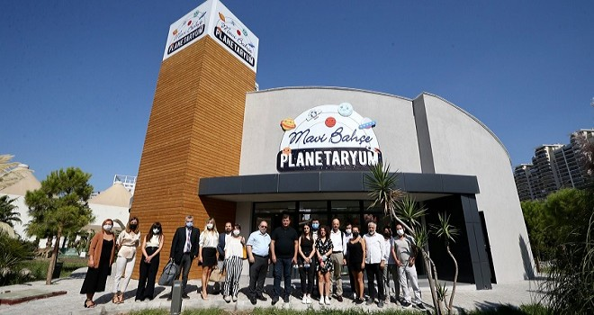 Planetaryum hizmete açıldı