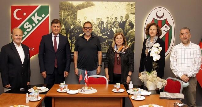 KSK'de belediye-holding-kulüp toplantısı