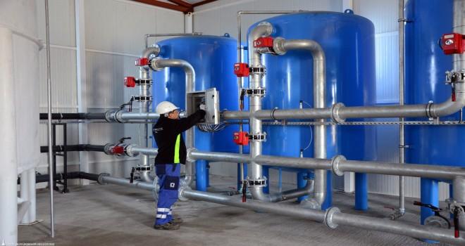 Dikili'de paket içme suyu arıtma tesisi açıldı
