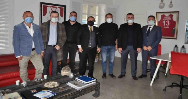 Dinamik Grup'tan Karşıyaka Spor Kulübü'ne ziyaret