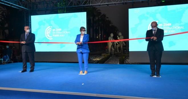 89. İzmir Enternasyonal Fuarı açıldı