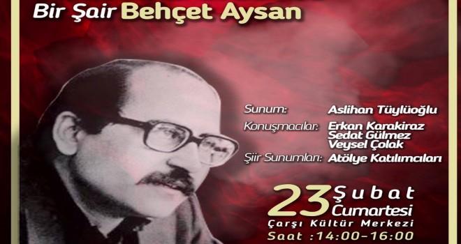 Behçet Aysan Karşıyaka'da anılacak