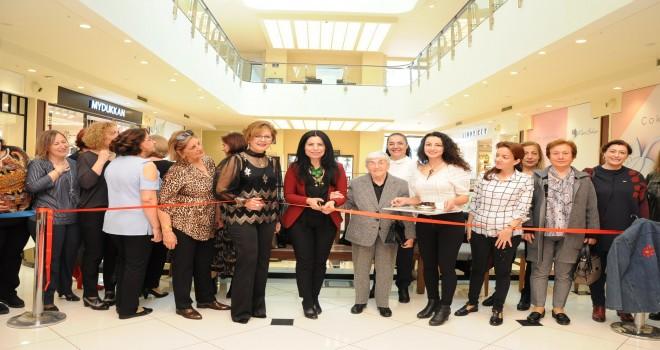 Karşıyaka Halk Eğitim Merkezi Keçe ve Nakış Sergisi açıldı