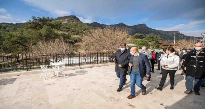 Bostanlı İskelesi'nden Karagöl'e kadar uzanan yürüyüş rotaları planlanıyor