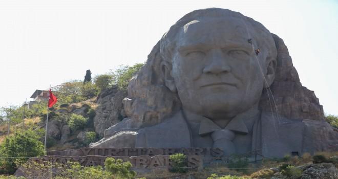 Atatürk Maskı'nda özel bakım çalışması