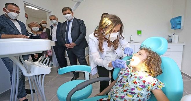 Karşıyaka Çocuk Ağız ve Diş Sağlığı Merkezi açıldı