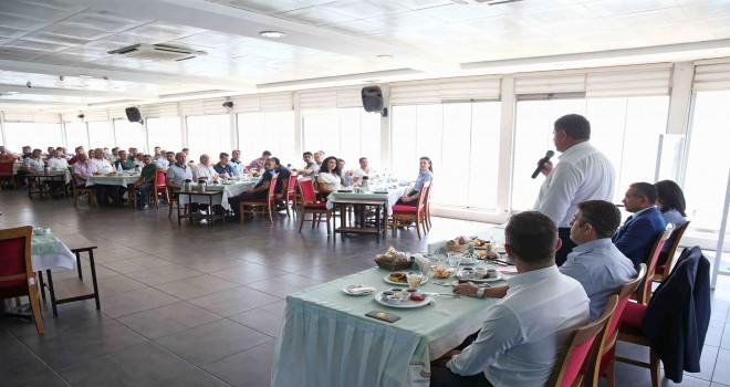 Karşıyaka Zabıtası'ndan 64. yıl kutlaması