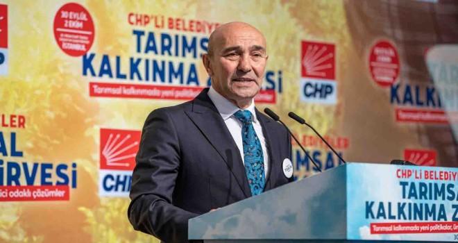 Başkan Soyer zirvede ''İzmir Tarımı''nı anlattı