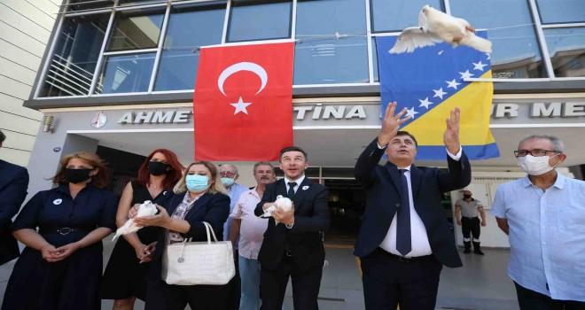 Karşıyaka Srebrenitsa'yı unutmadı
