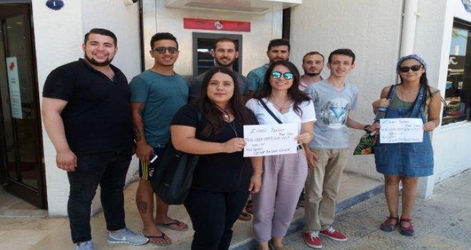 Foça'da ''Sende Bir Çocuk güldür'' kampanyası başladı