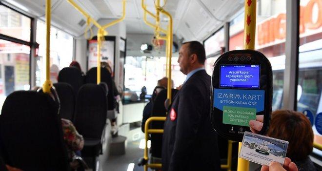 ''Gittiğin kadar öde'' sistemi otobüslerde de başlayacak...