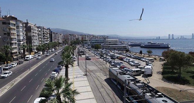 İzmir Büyükşehir'den Karşıyaka trafiğine düzenleme