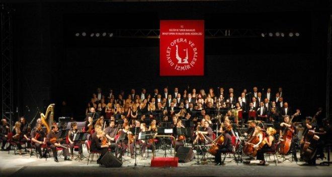 İzmir Devlet Opera ve Balesi sezonu ''Gala Konser'' ile sonlandırıyor