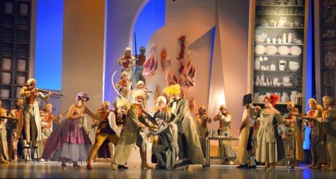 İzmir Devlet Opera ve Balesi'nin ''Sevil Berberi'' Eskişehir'de sahnelenecek