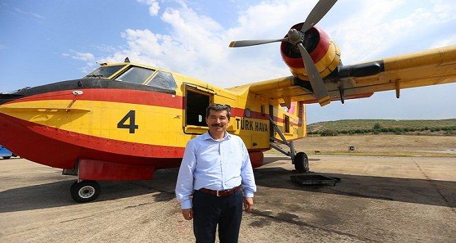 İzmir Orman Bölge Müdürü Aybal: Yangınlara uçaklarımız hazır