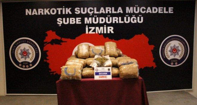 İzmir'de uyuşturucudan 80 kişi tutuklandı