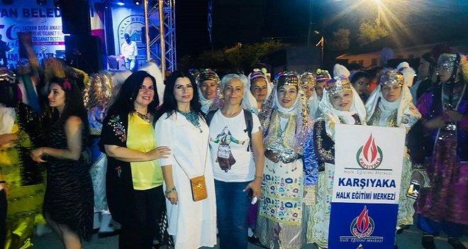 Karşıyaka Halk Eğitim Merkezi Folklor ekibi Tatvan'da alkışlandı...
