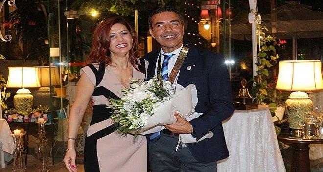 Karşıyaka Rotary Kulübü'nde başkan değişikliği