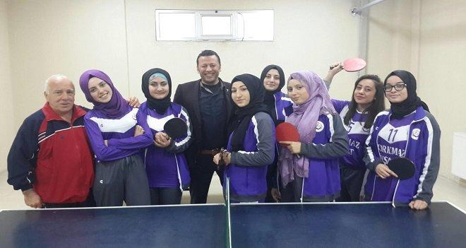Karşıyaka Sakize Lahur Lisesi Masa Tenisinde şampiyon...