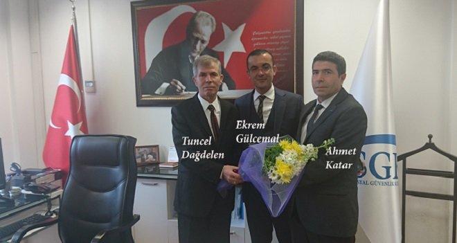 Karşıyaka SGK Müdürlüğüne Ahmet Katar atandı