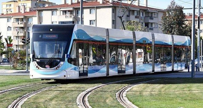 Karşıyaka Tramvayına yılbaşı ayarı