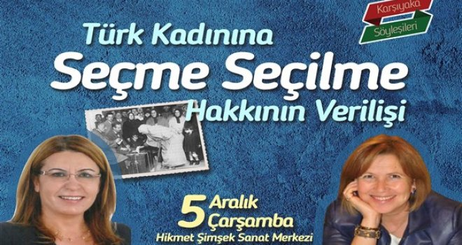 Karşıyaka'da ''5 Aralık'' söyleşisi