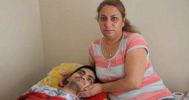 Karşıyaka'da anneden oğlu için yardım çağrısı