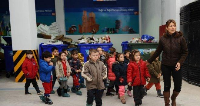 Karşıyaka'da öğrencilere çevre bilinci aşılandı