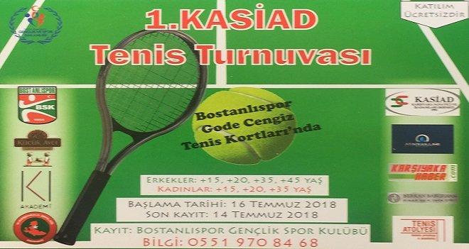 Karşıyaka'da Tenis Şöleni...