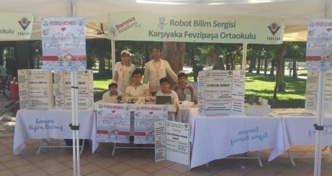 Karşıyakalı öğrencilerin ''Bilim Şenliği'' heyecanı