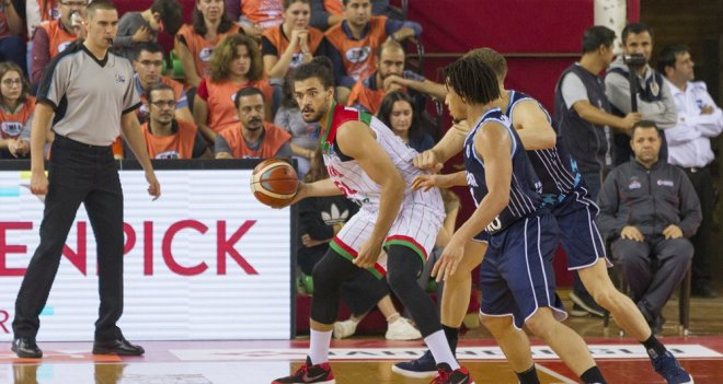 Karşıyaka'nın konuğu Spirou Basket