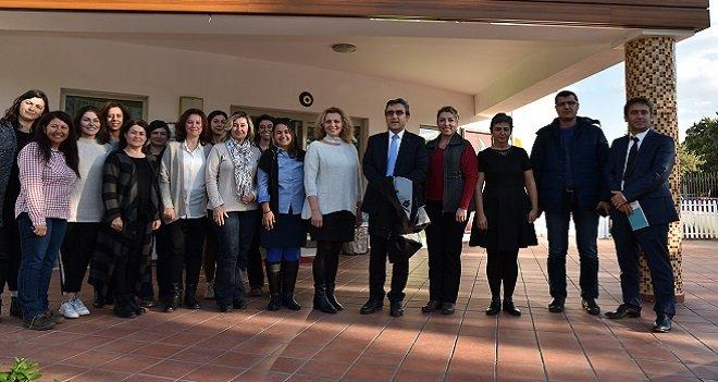 Kaymakam Yücel, Karşıyaka Okulları Orman Eğitim Alanı'nda incelemeler yaptı
