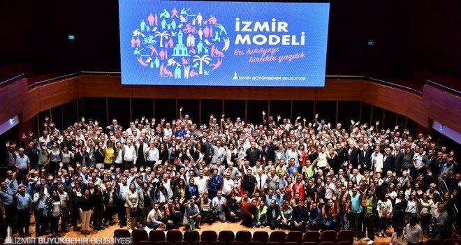 Kocaoğlu: Modası geçen değil model olan bir İzmir yarattık