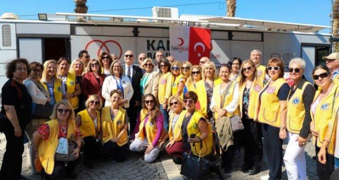 Lions Hizmet Günü'nde kan ve organ bağışı için yarıştılar