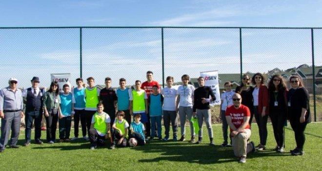 LÖSEV'de Spor Şenliği coşkusu
