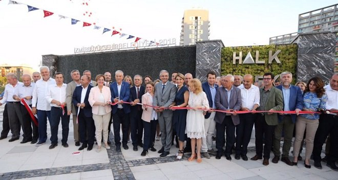 Mavişehir'de Halk Park açıldı...