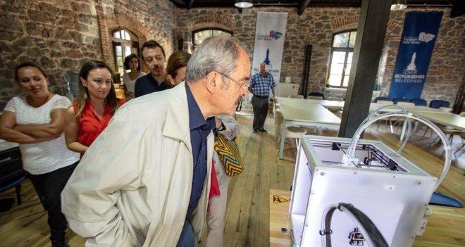 Meslek Fabrikası'nın son ziyaretçisi Prof. Dr. Yılmaz Büyükerşen